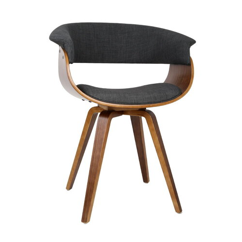 Modern Dining Chair - Charcoal