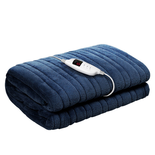 Electric Throw Blanket – Navy