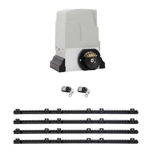 18000KG Automatic Sliding Gate Opener 4M with Remotes
