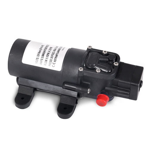 12V Water Pump Black