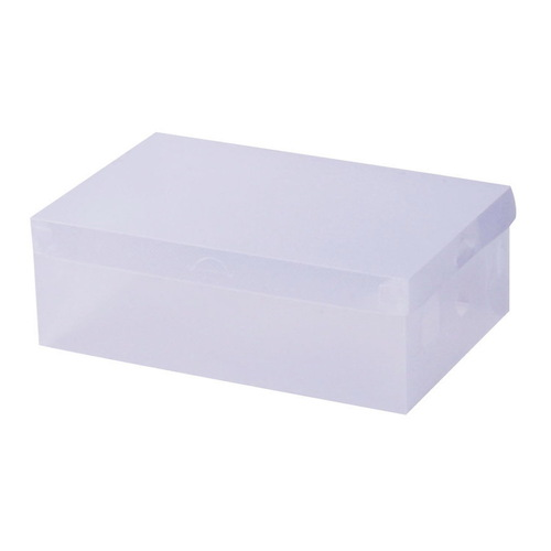 Set of 20 Clear Foldable Portable Shoe Boxes