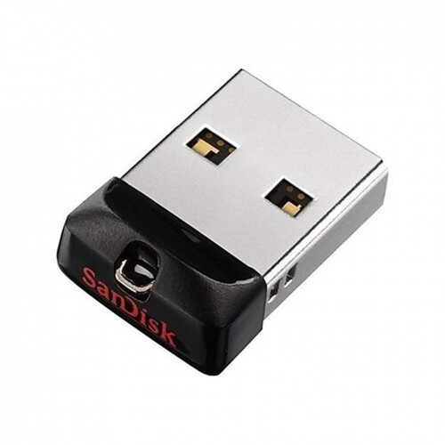SanDisk Cruzer Fit CZ33 16GB USB Flash Drive