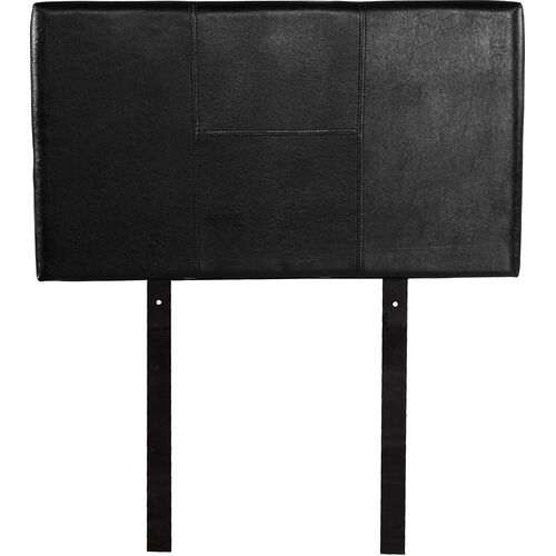 PU Leather Single Bed Headboard Bedhead - Black