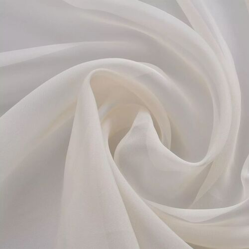 Voile Fabric 1.45 x 20 m Cream