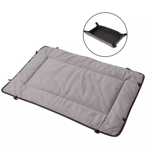 Dog Bed Grey 65x100 cm