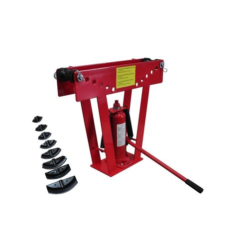 16 Ton Hydraulic Tube Rod Pipe Bender with 8 Dies