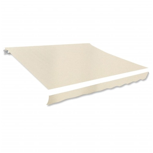 Awning Top Sunshade Canvas Cream 3x2.5m