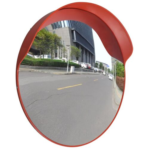 Convex Traffic Mirror PC Plastic Orange 60 cm