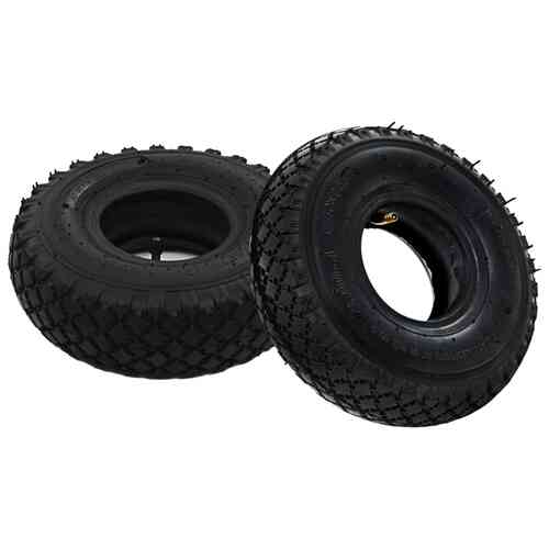 2 Tyres 2 Inner Tubes 3.00-4 260x85 for Sack Truck Wheel Rubber