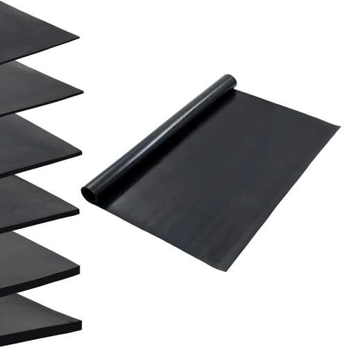 Floor Mat Anti-Slip Rubber 1.2x2 m 2 mm Smooth