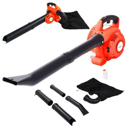 3 in 1 Petrol Leaf Blower 26 cc Orange