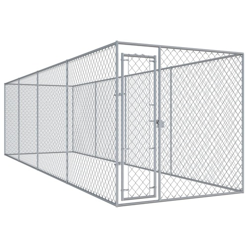 Outdoor Dog Kennel 7.6x1.9 m
