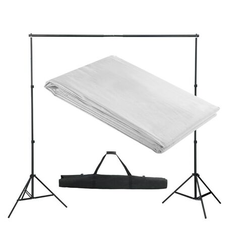 Backdrop Support System 300x300 cm White