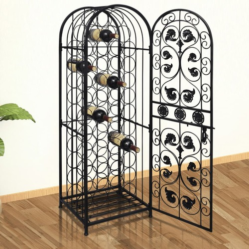 Wine Rack for 45 Bottles Metal