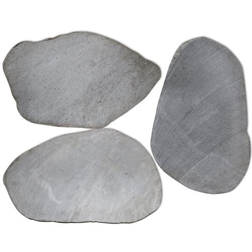 Garden Stepping Stones 3 pcs River Stone