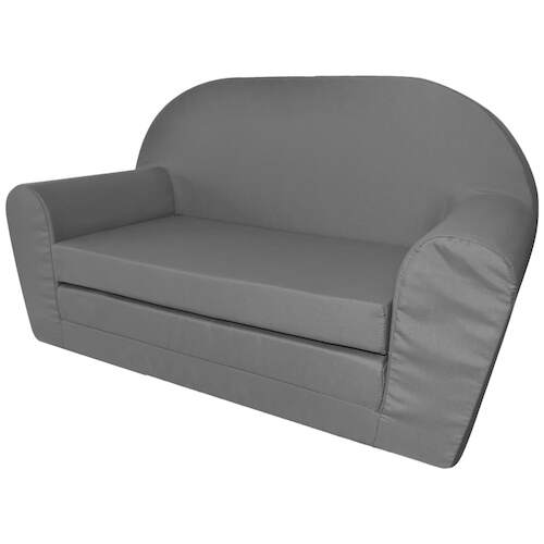 Kids' Flip-Out Lounge Chair Grey