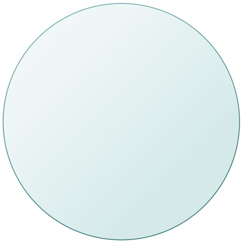 Table Top Tempered Glass Round 600 mm