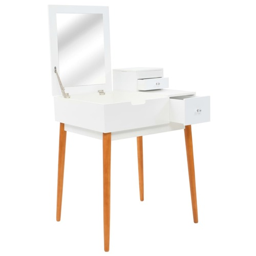 Dressing Table with Mirror MDF 60x50x86 cm