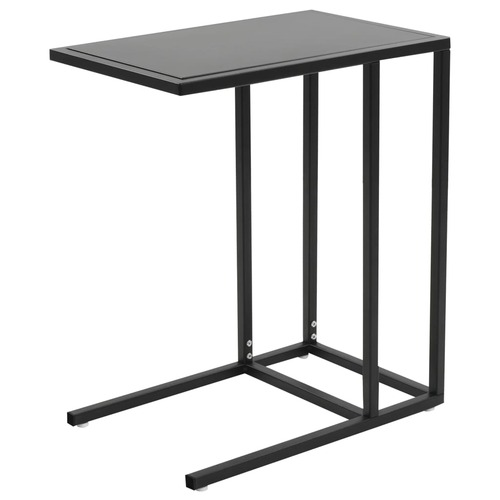 C-Table Metal 35x55x65 cm Black