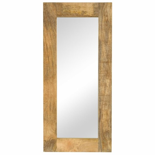 Mirror Solid Mango Wood 50x110 cm