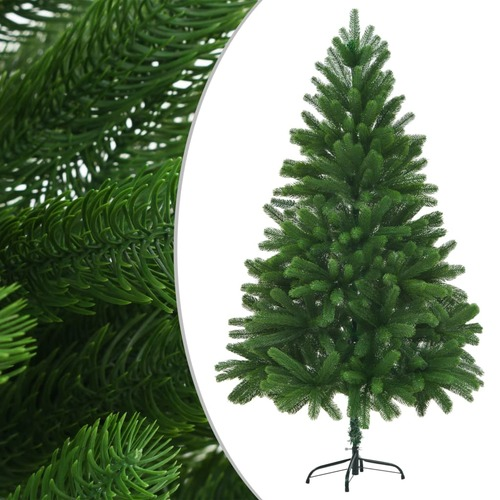 Faux Christmas Tree 210 cm Lifelike Needles Green