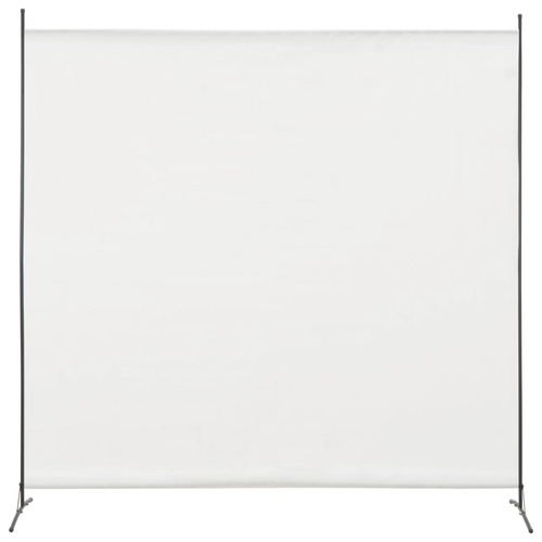 1 Panel Room Divider White 175x180 cm