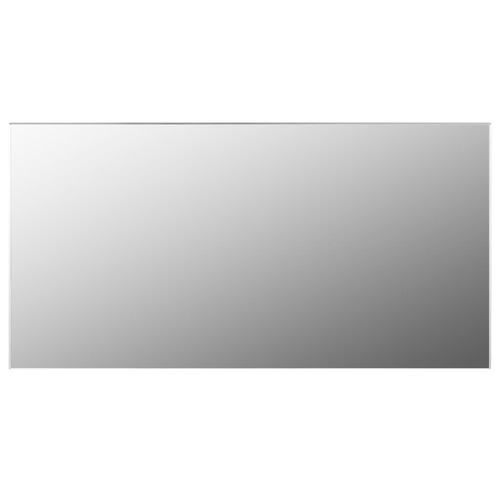 Frameless Mirror 120x60 cm Glass