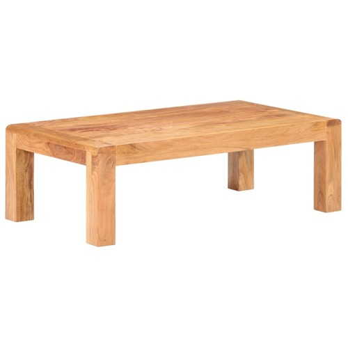 Coffee Table 110x60x35 cm Solid Acacia Wood in Sheesham Finish