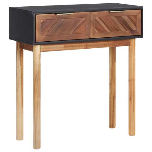 Console Table 70x30x75 cm Solid Acacia Wood and MDF