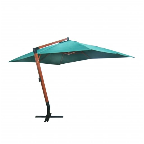 Floating Parasol Melia 300 x 400 cm Green