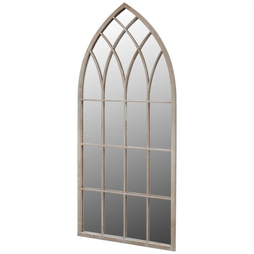 Gothic Arch Garden Mirror 50 x 115 cm for Both Indoor and Outdoor Use