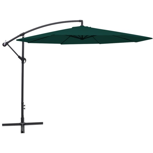 Cantilever Umbrella 3.5 m Green