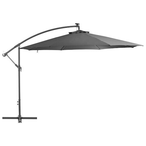 Cantilever Umbrella with Aluminium Pole 350 cm Anthracite