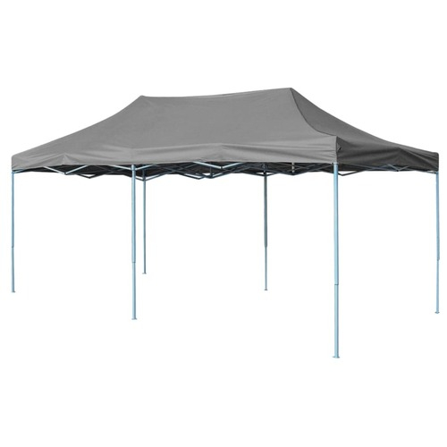 Folding Pop-up Partytent 3x6 m Anthracite