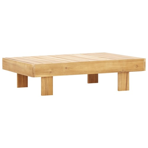 Coffee Table 100x60x25 cm Solid Acacia Wood