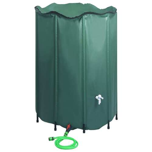 Collapsible Rain Water Tank with Spigot 1500 L