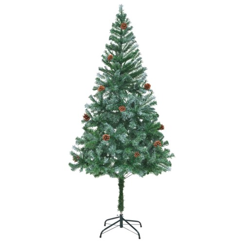 Artificial Christmas Tree with Pinecones 180 cm