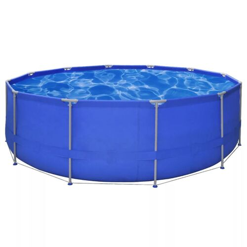 Above Ground Swimming Pool Steel Frame Round 457 x 122 cm