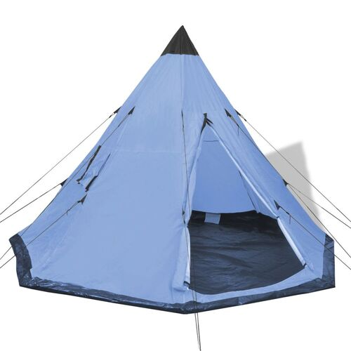 4-person Tent Blue