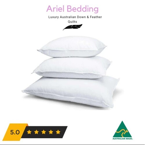 Ariel Miracle 50percent Duck Down Pillows Standard - 45cm x 70cm