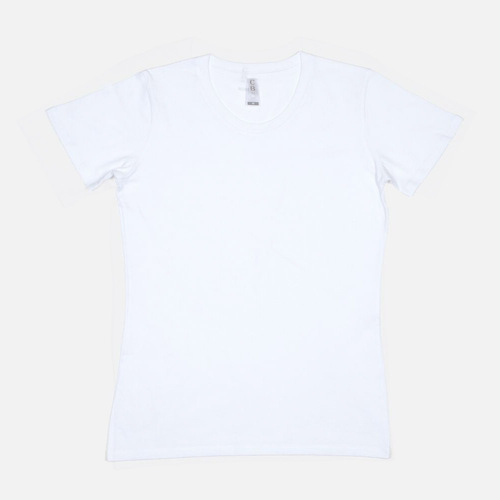 L1 - Ladies Slim T-Shirt - White, S