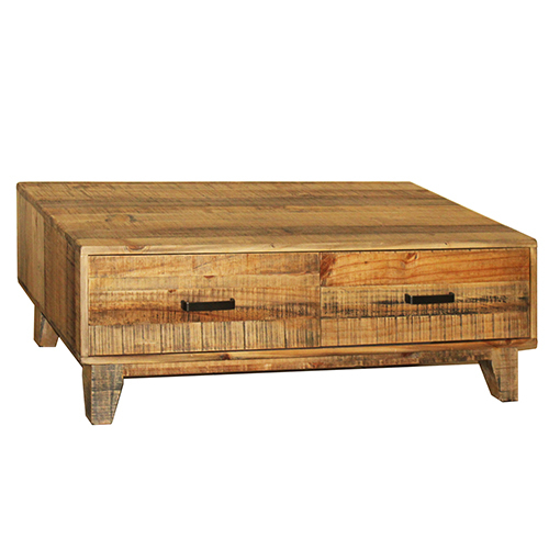 Woodstyle Coffee Table 4 Drawers