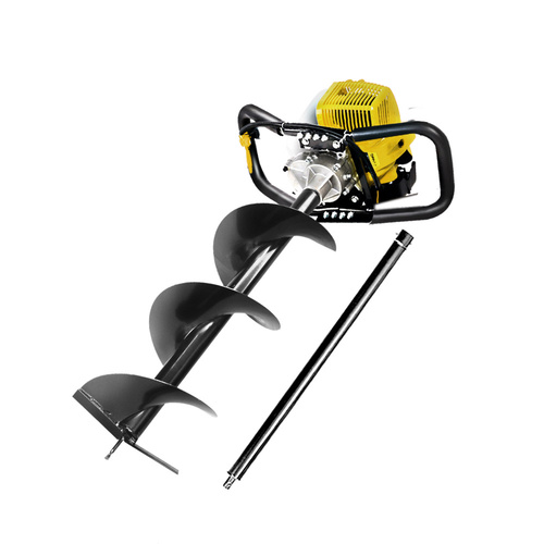 Giantz 66CC Petrol Post Hole Digger Drill Auger Borer Fence Earth Power