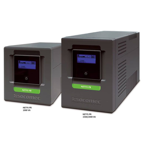 Socomec Netys UPS PR MT 1000VA Mini Tower