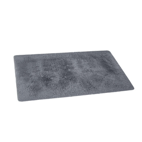 Artiss Ultra Soft Shaggy Rug Large 200x230cm Floor Carpet Anti-slip Area Rugs Grey