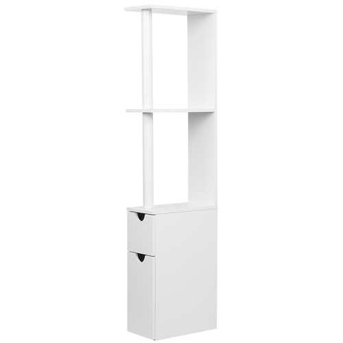 Freestanding Bathroom Storage Cabinet - White