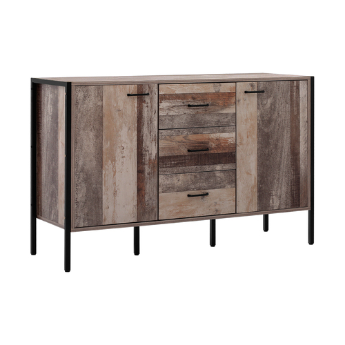 Artiss Buffet Sideboard Storage Cabinet Industrial Rustic Wooden
