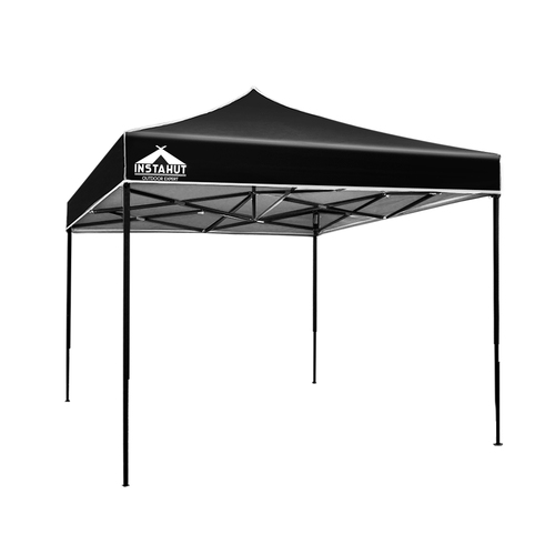 3x3M Outdoor Gazebo - Black