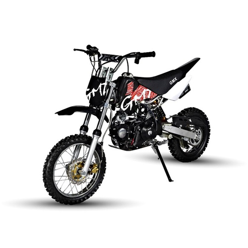 GMX 125cc Rider X Dirt Bike - Black