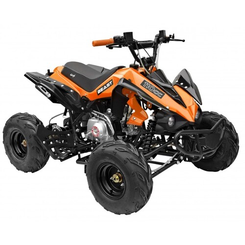 GMX 110cc The Beast Sports Quad Bike - Orange